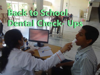 BACK TO SCHOOL DENTAL CHECK-UPS