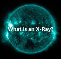 This is a picture of an X-Ray view of the sun