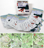 Playing cards, Ski the USA