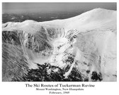 Ski Routes of Tuckerman Ravine