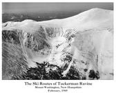Ski Routes Artiplaq Poster