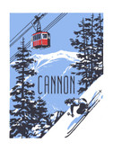 Cannon Screen Print