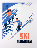 Sugarloaf Gondola Screen Print
