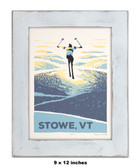 Framed Stowe Screen Print