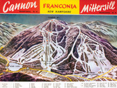 Canvas Print- Cannon ~ Mittersill Trail map ca. 1961-62