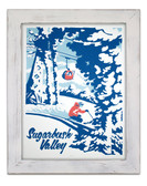 Framed Sugarbush Valley Screen Print