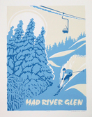 Framed Mad River Glen Screen Print