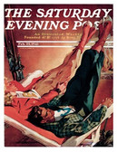 Saturday Evenning Post cover poster