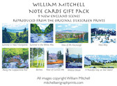 Note Cards Gift Pack by William Mitchell