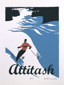 Attitash Screen Print