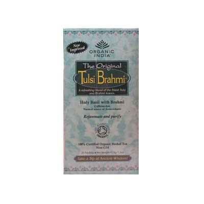 Organic Tulsi Brahmi Tea - 25 bags