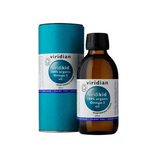 100% Organic Viridikid Nutritional (Omega 3) Oil Blend 200ml