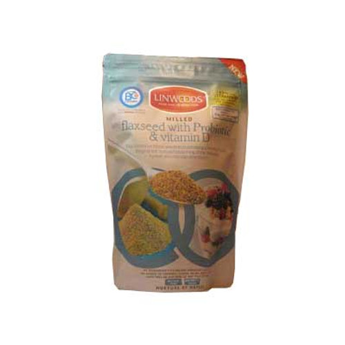 Milled Flaxseed with Probiotic & Vit D 360g