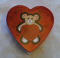 Teddy Bear with Hearts 4oz. Box