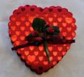 Hearts and Rose 4oz. Box