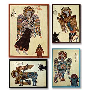4 Evangelists Symbols