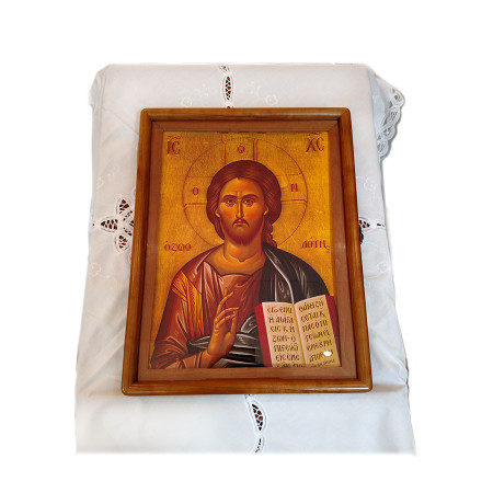 103 Byzantine Icons & Icon Case for Orthodox Liturgical Year