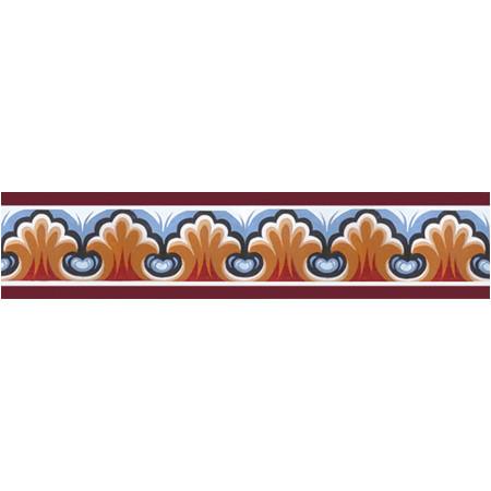 Byzantine Border SCALLOP MOTIF