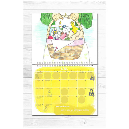 Love & Joy: An Orthodox Children's Calendar 2018