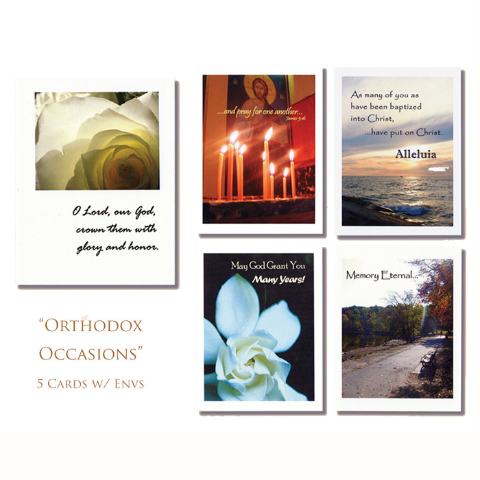 Orthodox Occasions Note Card Set