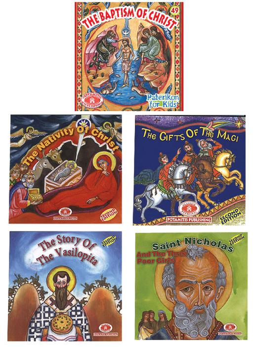 Paterikon Christmas Stories: SET OF 5