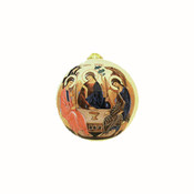 Hospitality of Abraham Ornament