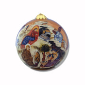 Nativity Icon Ornament