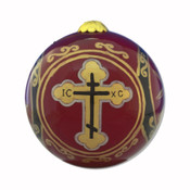 Byzantine Cross Ornament