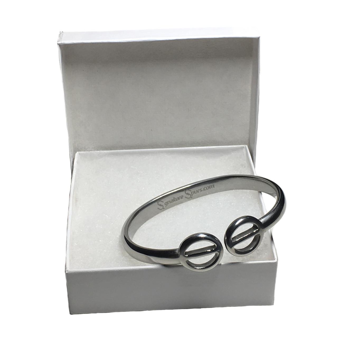 Personalized Spur Bracelet