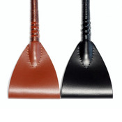 Leather Hunter Jumping Bat with Personalized End Cap