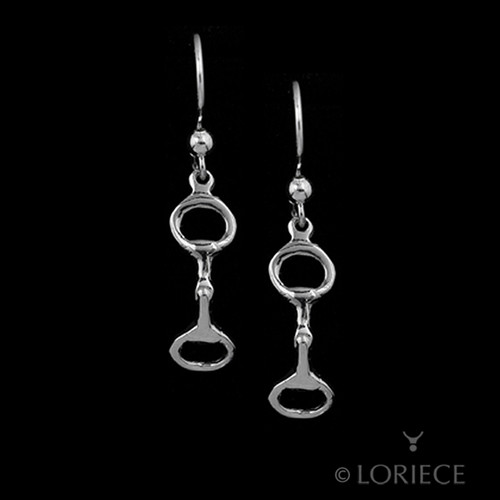 Equestrian Snaffle Bit Earrings