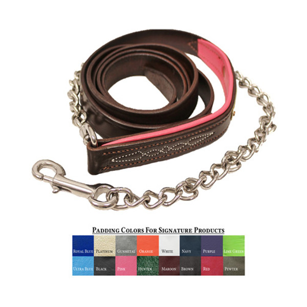 "Walsh Signature Padded Lead with 24"" Chain"