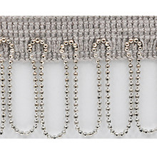 Chain Fringe, Silver (Modern trims)