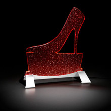 Sparkle Shoe Table Lamp, Modern