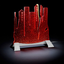 Citylite Table Lamp, Modern Bubbles