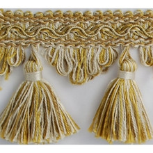 Gold & Bone Traditional Trimming for Home Decor'