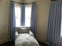 Custom Curtains, Silk Dutchess II