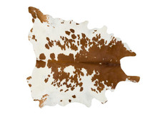 FORSYTH BROWN & WHITE COWHIDE