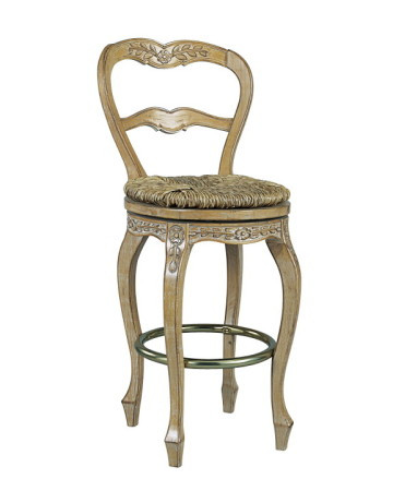 Swivel barstool french style for Luxury swivel bar stools