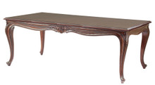 Louis XV Dining Table, Brown Mahogany
