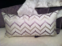 Herringbone Lumbar Pillow