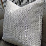 Valentino Metallic Throw Pillow, Fabric by Kravet