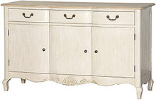 French Country Sideboard, Stone & Natural Oak French Style