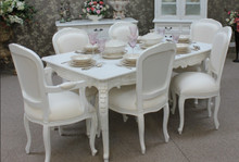Provincial Chateau Dining Table Set (1 Table 6 Chairs)