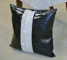 Luxury Throw Pillow, Belgravia Crock, Diamante Collection