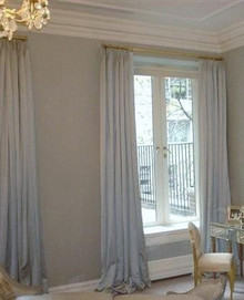 Custom Curtains, Silk Dutchess