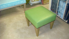 Bench Stool, The Southfield Stool with gold legs