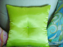 Glam Satin Bling Throw Pillow