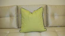 Modern Kiwi Throw Pillow