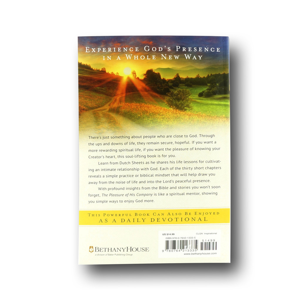 Pleasure of His Company, The: A Journey to Intimate Friendship with God